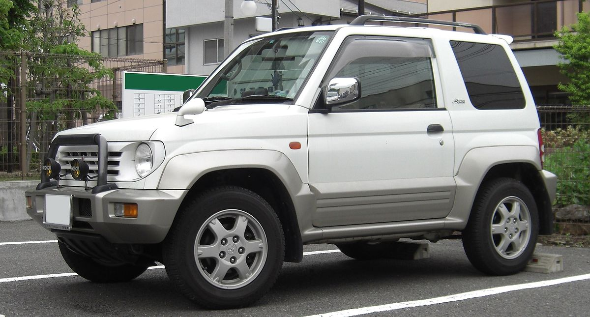 Mitsubishi Pajero Junior Wikipedia