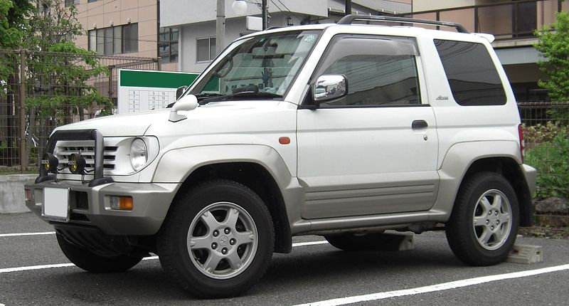 800px Mitsubishi Pajero Jr How Do Women Buy Their Cars?