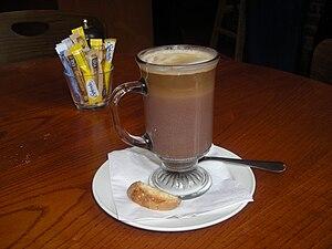 A Mocha coffee