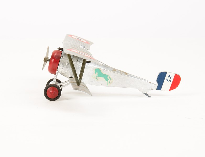 File:Model aeroplane, bi-plane (AM 789801-2).jpg