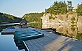 Mohonk Mountain House 2011 Boat Dock in Early Morning FRD 2996.jpg