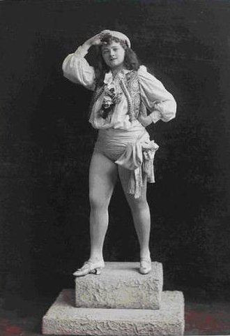 Frederick Hallen - Mollie Fuller  NYPL Digital Gallery (ca. 1890s)