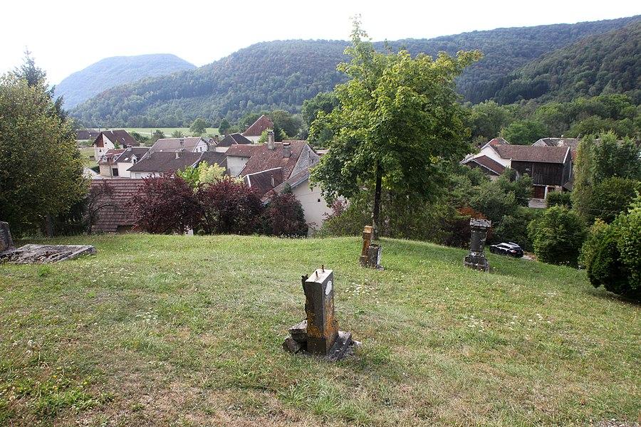 Vue de Montgesoye (Doubs).
