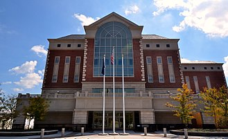 Montgomery County, Virginia - Image: Montgomery County Courthouse new