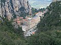 Montserrat abbey from upper station of Saint John funicular.jpg