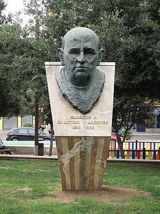 Antoni Maria Alcover i Sureda - A monument in Manacor, Majorca