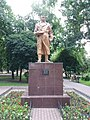 Monument to Chkalov, Kyiv.jpg