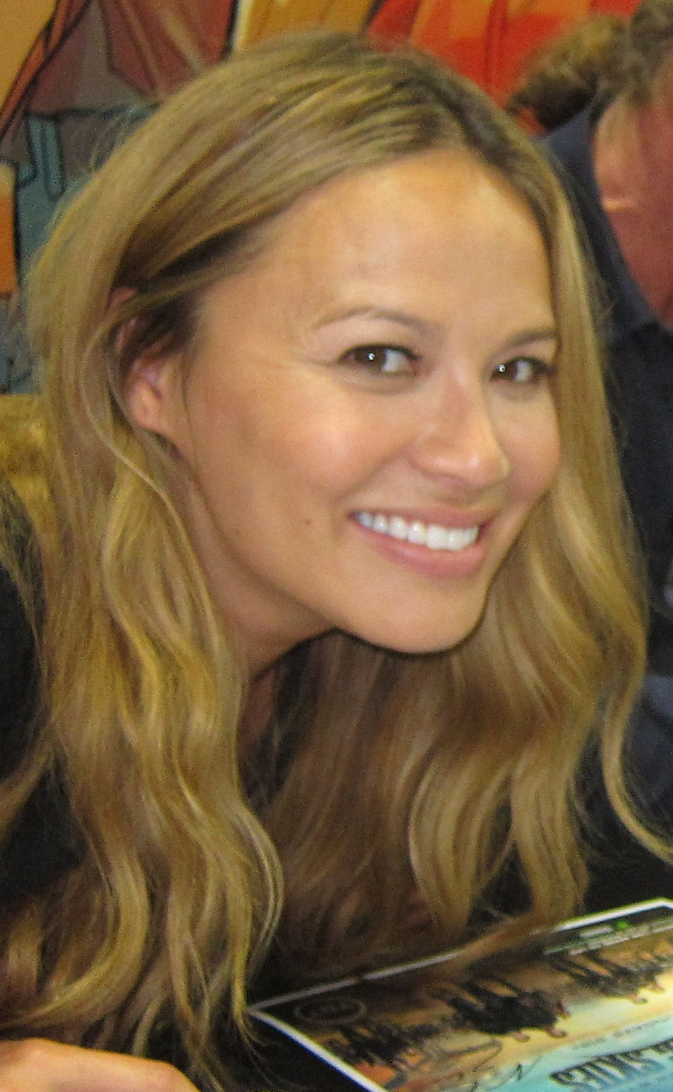 Moon Bloodgood 2012 Dark Horse Comics booth (cropped)