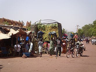 Mopti - Mopti Market