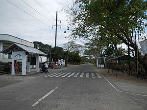 Morong, Bataan - Downtown area