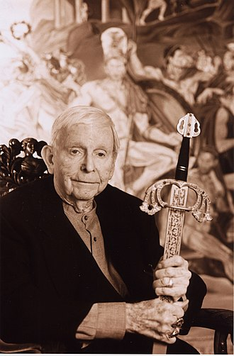 Morris Kight - Morris Kight. Portrait by Henning von Berg, 2002