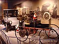 Morris & Salom 1895 Electrobat IV and Detroit Electric Brougham 1915.jpg
