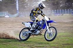 Motocross en el circuito de Phillip Island, Victoria, Australia