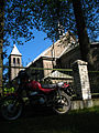 Motorcycle near the Church of the Immaculate Conception of Blessed Virgin Mary in Idolta - panoramio.jpg