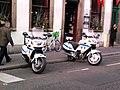 Motos Honda NT police municipale de Strasbourg.jpg