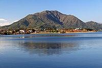 Mount Ashiwada from Lake Kawaguchi.JPG