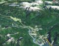 Mount Garibaldi Hydrography World Wind.png