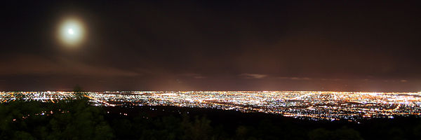 Mount Lofty View Night