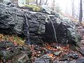 Mount Monadnock White Dot trail waterfall October 2009.jpg