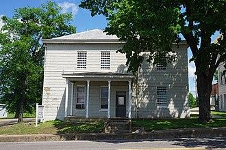 Mount Vernon, Texas - Old Jail Art Museum