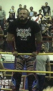 Mecha Wolf 450 Puerto Rican wrestler