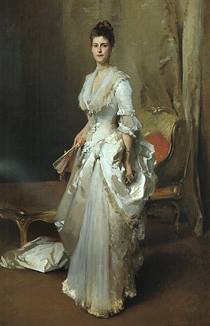 Henry White (diplomat) - Portrait of White's first wife, Margaret Stuyvesant Rutherford, by John Singer Sargent, 1883
