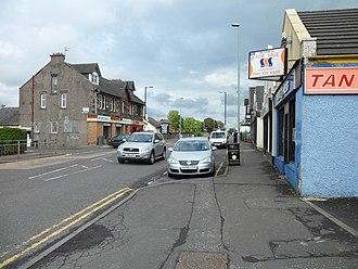 Muirhead, North Lanarkshire - The Main Street in Muirhead