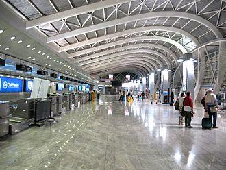 Airport terminal - Mumbai Airport (Domestic Terminal), India