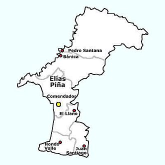 Elías Piña Province - Municipios and Municipal Distritos