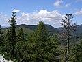 Muránska planina, Skalná brána, pohled Z.jpg