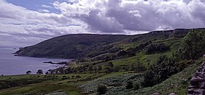 Mac Eoin Bissett family - Murlough Bay, exemplary of the rugged coastal lordship of the Bissetts
