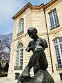 Muse Whistler de Rodin devant l'hôtel Biron, Paris (2).JPG