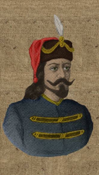 Mutimir of Serbia - Modified picture of Prince Mutimir