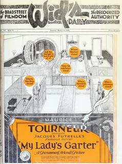 <i>My Ladys Garter</i> 1920 film by Maurice Tourneur