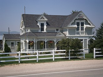 Marion, Utah - The Myrick House is listed on the National Register of Historic Places.