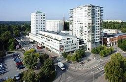 Näsbyparks centrum