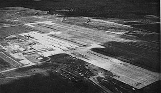 Naval Air Station Glynco - Aerial view of NAS Glynco in the early 1960s