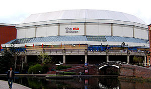 Eurovision Song Contest 1998 - National Indoor Arena, Birmingham – host venue of the 1998 contest. (pictured in 2005)