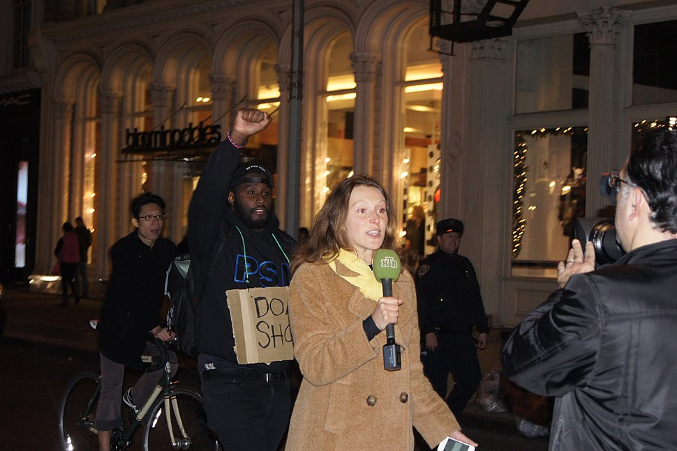 NYC Mike Brown-Ferguson protest Broadway 3
