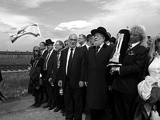 "Yom HaShoah - ""March of the Living"" at Auschwitz."
