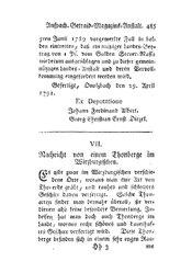 Nachricht von einem Thonberge im Wirzburgischen, S. 485-488