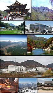 長野市's relation image