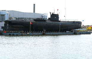 Il sommergibile russo U-359 presente nella Baia dei porci.