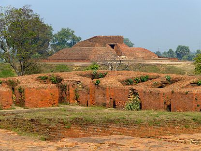 Nalanda - 033 Temple 13 from Afar (9253577004).jpg