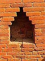 Nalanda - 038 Kuti Wall Niche (9253532448).jpg