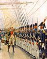 Napoléon inspectant l'escadre de Cherbourg en mai 1811 - Rougeron et Vignerot.jpg