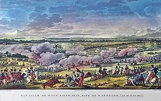 War novel - Battle of Waterloo 1815