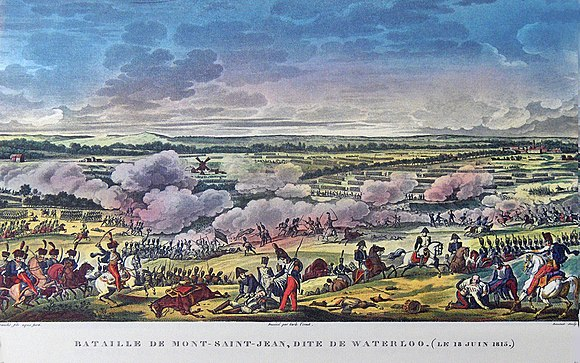 Battle of Mont-Saint-Jean Napoleon.Waterloo.jpg