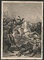Napoleon at the battle of the pyramids, July 21, 1798) - peint par Gros ; gravé par Vallot LCCN2014645167.jpg
