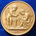 Napoleonic Wedding Medal Fontainebleau 1807, Reverse.jpg